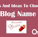 how to change blog name