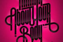 Design / Tipografia, Logos, Graficas, Poster, Afiches