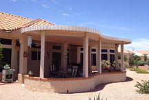 Pergolas / Shade for your back patio so you can entertain and enjoy