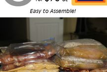 Freezer Meal Plans / Make ahead meals for your freezer to help you save money and time.