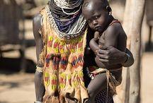 Karo Ethiopia / A tribe from Omo valley, Ethiopia