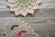 Mostruário de crochê