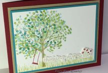 Stampin' Up! - Sheltering Tree / by Kim Miller