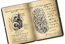 Artists books....sketch...journal