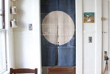 Curtain jappanese style