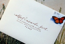 {inspiration} calligraphy / by Kerri Driscoll