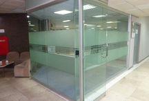 Kusen aluminium pada rumah dan kantor / Kusen Aluminium dan Kaca