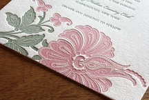 {invitation design} blume / by Invitations by Ajalon