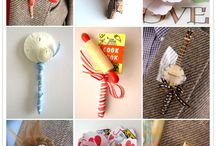 Buttonholes n brooches