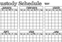 single working mom schedule / Divorce