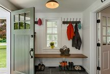 Modern Farmhouse Mudroom