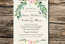 Wddding invitations