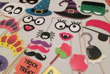 Halloween photo booth / Inspiration to create a fantastic halloween photo booth