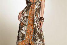 SCARF DRESS - ROCHII DIN ESARFE