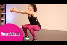 Exercise / Squat, Abs, Video
