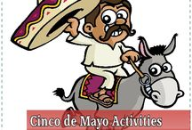 Cinco de Mayo Party Ideas / We love family parties! The colors, foods, and activities for a Cinco de Mayo party are so fun that we make sure to plan one every year. #cincodemayo