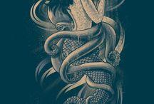 Tatuaggi con sirenetta