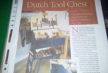 Dutch Toolchest / Foto reporatge van het maken van een Dutch Toolchest. How I made my Dutch Tool Chest