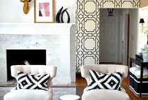 Black & White Decor and Pillows