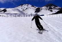 Skiing Termas de Chillan, Volcan Chillan / Ski volcanoes and backcountry in Termas de Chillan / Nevados de Chillan, Chile