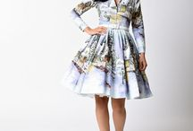 Holiday Cheer / Radiant Retro Holiday Dresses, Separates, Accessories, Gifts - all things Marvelously Merry!