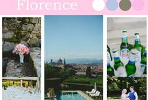Moodboards / moodboards of weddings we planned divided per region and area