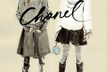 fashion illustration - Regina Yazdi