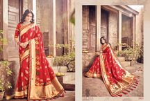 2610 Silk Heritage Wedding Saree With Two Blouse By MN Sarees