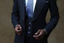 Navy Blue Suits