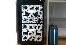 Home-Decor / Makeover of Filing Cabinet / by Cheryl Cheek