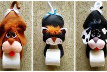 porta pepel higiênico animais