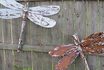ceiling fan dragonflies