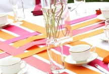 Table decoration / creations