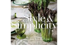 Book Collection / These books lead to inspire your own creations either through the home, kitchen or everyday life