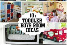 Kids Room / Ideas for kids bedroom/playroom; mostly boys