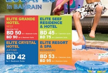 Whats on Elite? / A board containing all events and promotions happening at  the different Elite Properties