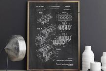 Patent Print Posters