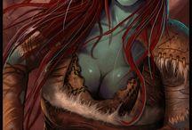 Art | Female Orcs