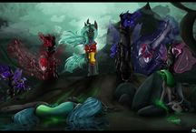 Gallow Wisp - The fallen Queen short story / Aftermath of Chrysalis' invasion