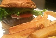 BURGERS / Shots of mouthwatering steak burgers from Chicago Steak Company.