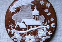 vianočné domčeky a medovníky