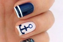 Nails with anchor