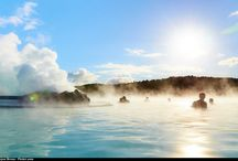 Natural Baths / Hot springs and natural baths in Iceland