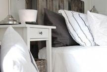 Bed ideas / Met achterboard