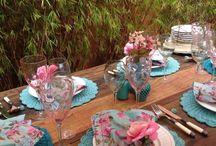Decoração de Casamento em Azul Tiffany