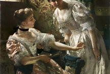 Polish painting XIX c.
