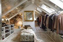 Attic closet/wardrobe ideas