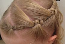 Küçük kızlara saç modelleri