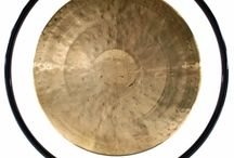 """15"""" to 18"""" Extra Medium Chinese Gong and Stand Combos"""