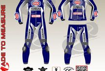 Yamaha Racing leather suit one piece or two piece for motor bike riding enthusiasts